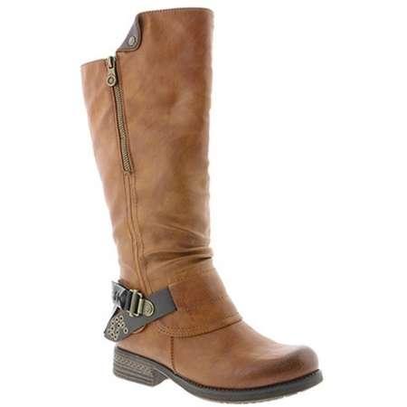 Modischer Stiefel der Marke Rieker