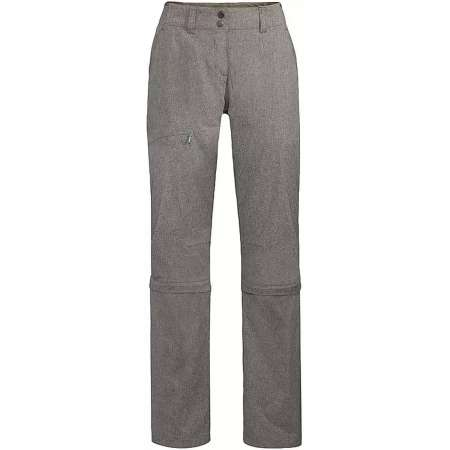 Funktionale Vaude Damen Wanderhose - Wo Skomer Capri Zo Pants II - Abzipphose