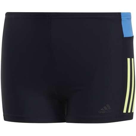 Adidas - Colorblock Fitness 3-Streifen Boxer-Badehose