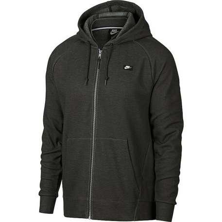 Modische Nike Sweatjacke - M NSW Optic Hoodie FZ